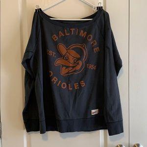 XL Nike Cooperstown Collection Orioles sweatshirt